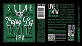 Stone Enjoy By 12.21.12 beer
