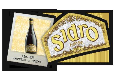 Baladin Sidro beer Label Full Size