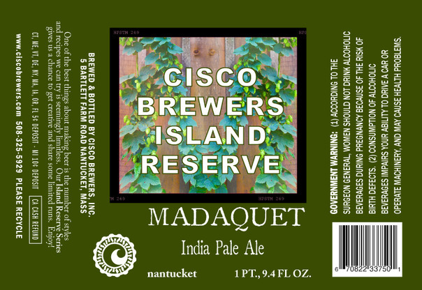Cisco Island Reserve Madaquet Beer