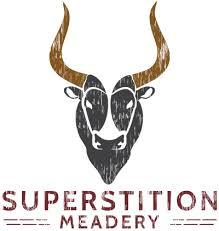 Superstition Meadery Blueberry White beer Label Full Size