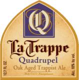 La Trappe Quadrupel Barrique beer