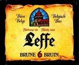 Leffe Bruin beer