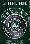 Greens Dubbel beer Label Full Size