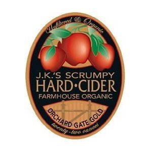 J.K.'s Scrumpy Organic Cider beer Label Full Size