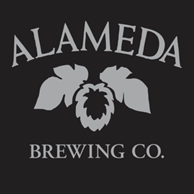Alameda Island Power to the Pedal beer Label Full Size