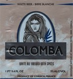 Pietra Colomba Witbier beer