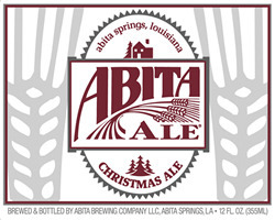 Abita Spiced Christmas Ale beer Label Full Size