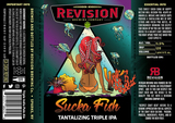 Revision Sucka Fish - Tantalizing Triple IPA beer