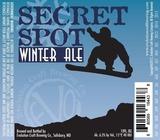 Evolution Secret Spot Winter Ale Beer