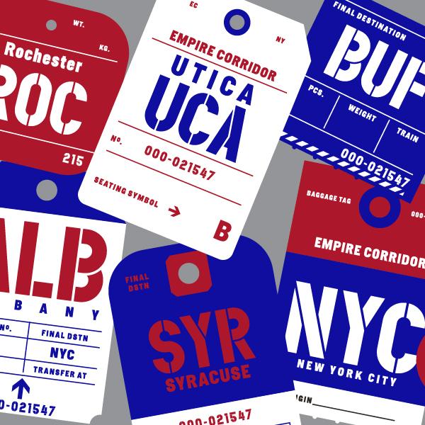 Five Boroughs Empire Corridor beer Label Full Size