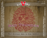 Victory Red Thunder Beer