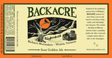 Backacre Sour Golden Ale Beer