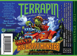 Terrapin Oaked Aged Big Hoppy Monster beer