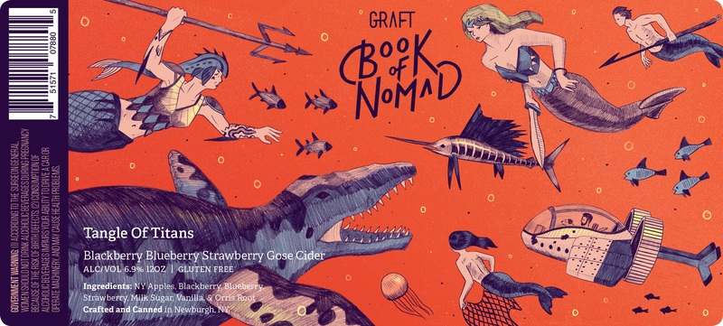 Graft  I  Book of Nomad  I  Tangle of Titans Beer
