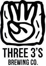 Three 3's Depth of Perception beer Label Full Size
