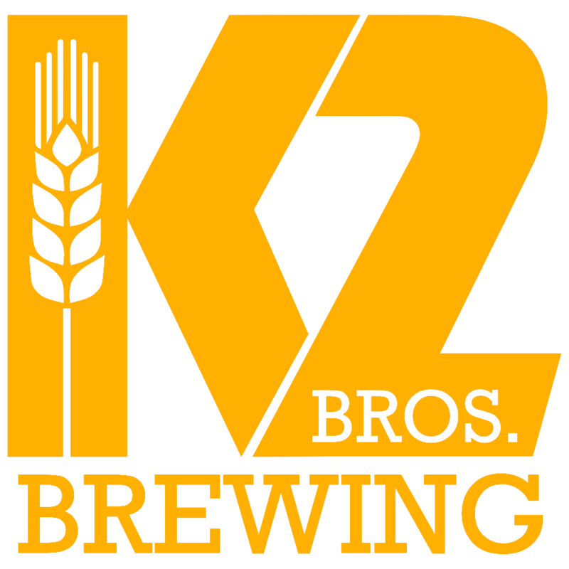 K2 Brothers Brewing DDH IPA (Galaxy) beer Label Full Size