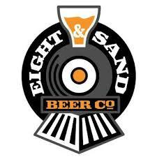 Eight & Sand Brass Pounder beer Label Full Size