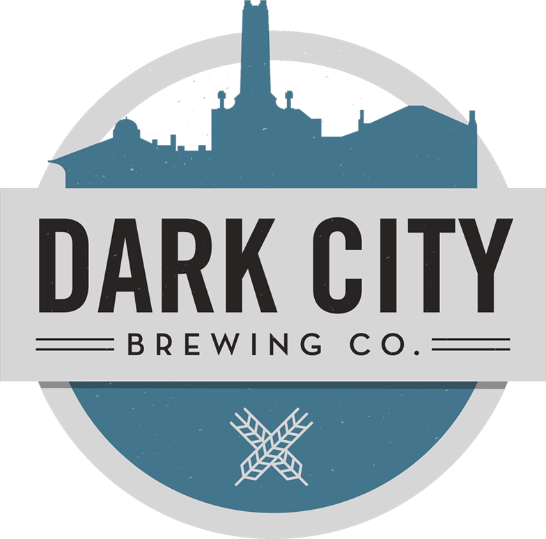 Dark City Second & Main beer Label Full Size