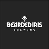 Bearded Iris Attention Please DDHw/ Vic secret & mosaic beer
