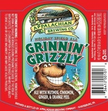 Appalachian Grinnin' Grizzly Spiced Ale beer