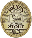 Young's Oatmeal Stout beer