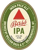 Bass IPA beer