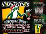 Hoppin' Frog Barrel Aged Frosted Frog Christmas Ale beer