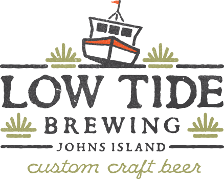 Low Tide Aloha Beaches beer Label Full Size