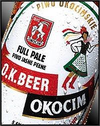 Okocim O.K. Beer beer Label Full Size