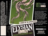 Elysian Omen Belgian Raspberry Stout Beer