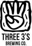 Three 3's Creamed Coffee Porter Beer