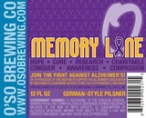 O'so Memory Lane beer