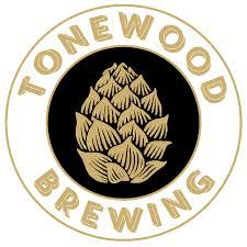 Tonewood Double Dry-Hopped Fuego beer Label Full Size