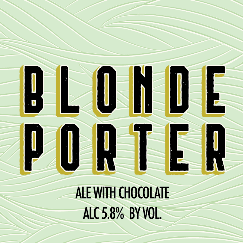 Perrin Blonde Porter beer Label Full Size