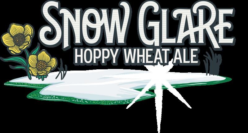 Breckenridge Snow Glare beer Label Full Size