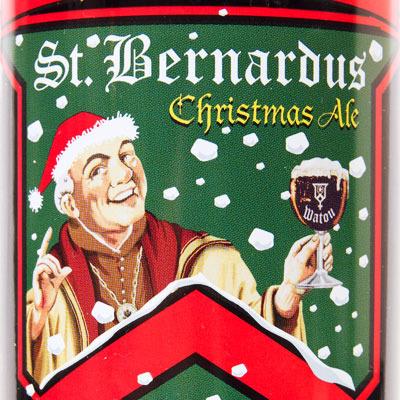 St. Bernardus Christmas Ale beer Label Full Size