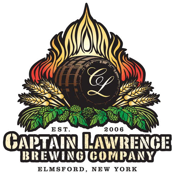 Captain Lawrence Muddy Kriek beer Label Full Size