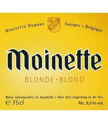 Dupont Moinette Blonde beer Label Full Size