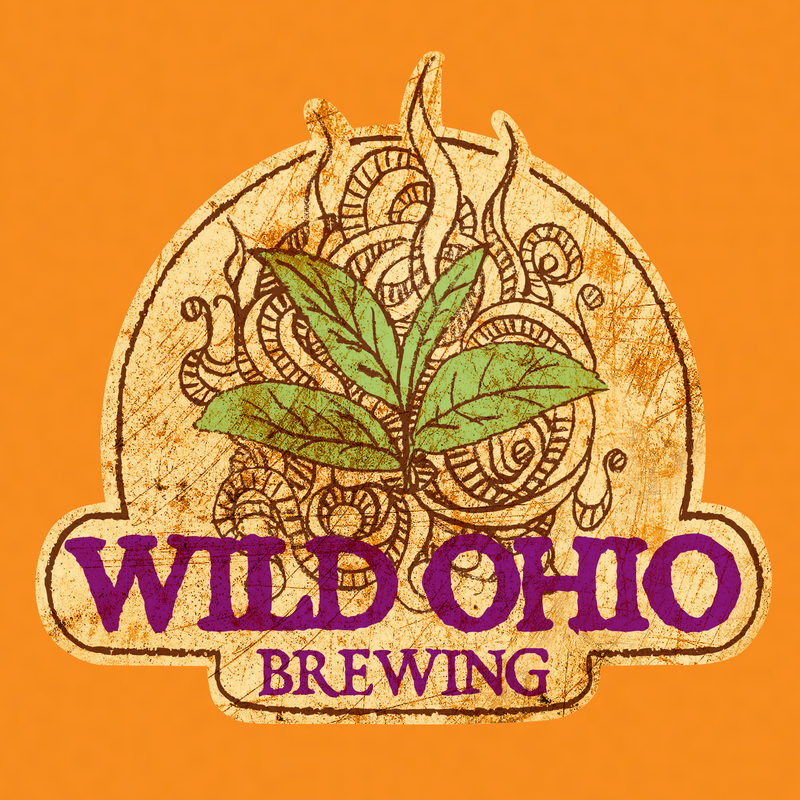 Wild Ohio Mango (Gluten Free) beer Label Full Size