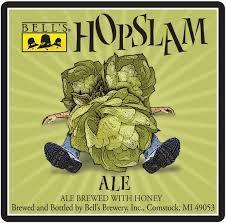 Bell's Hopslam 2018 beer Label Full Size