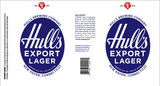 Hull's Export Lager beer