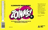 Illuminated Zoinks! beer