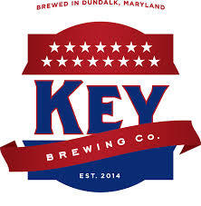 Key Brewery Across the Tracks beer Label Full Size