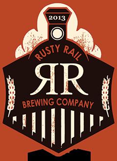 Rusty Rail Fool's Gold (Peanut Butter Hefeweizen) beer Label Full Size