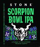 Stone Scorpion Bowl IPA beer