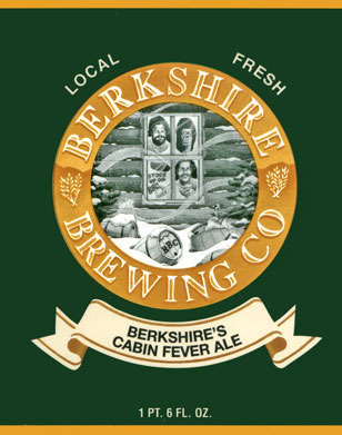 BBC Cabin Fever beer Label Full Size
