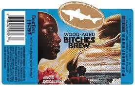 Dogfish Head Barrel Aged Bitches Brew beer Label Full Size