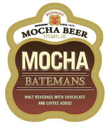 Bateman's Mocha Beer beer Label Full Size