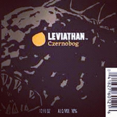 Harpoon Leviathan Czernobog beer Label Full Size