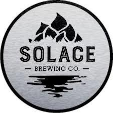 Solace Partly Cloudy IPA beer Label Full Size